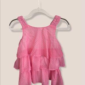 pink polka dot dress by Kids Headquarter